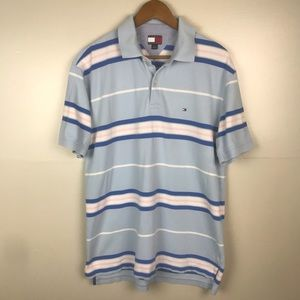 Tommy Hilfiger Logo Polo Short Sleeve 2 Button